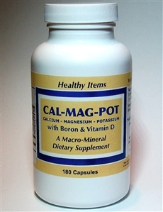 Calcium, Magnesium and Potassium with Boron and Vitamin D