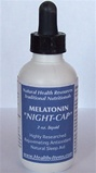 Melatonin Nightcap sleep-aid and antioxidant a Liquid to more easily adopt the dosage for those with special conditions benefitting from a higher dosage.